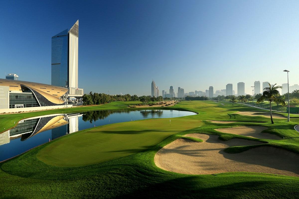 Emirates Golf Club - Faldo 18th