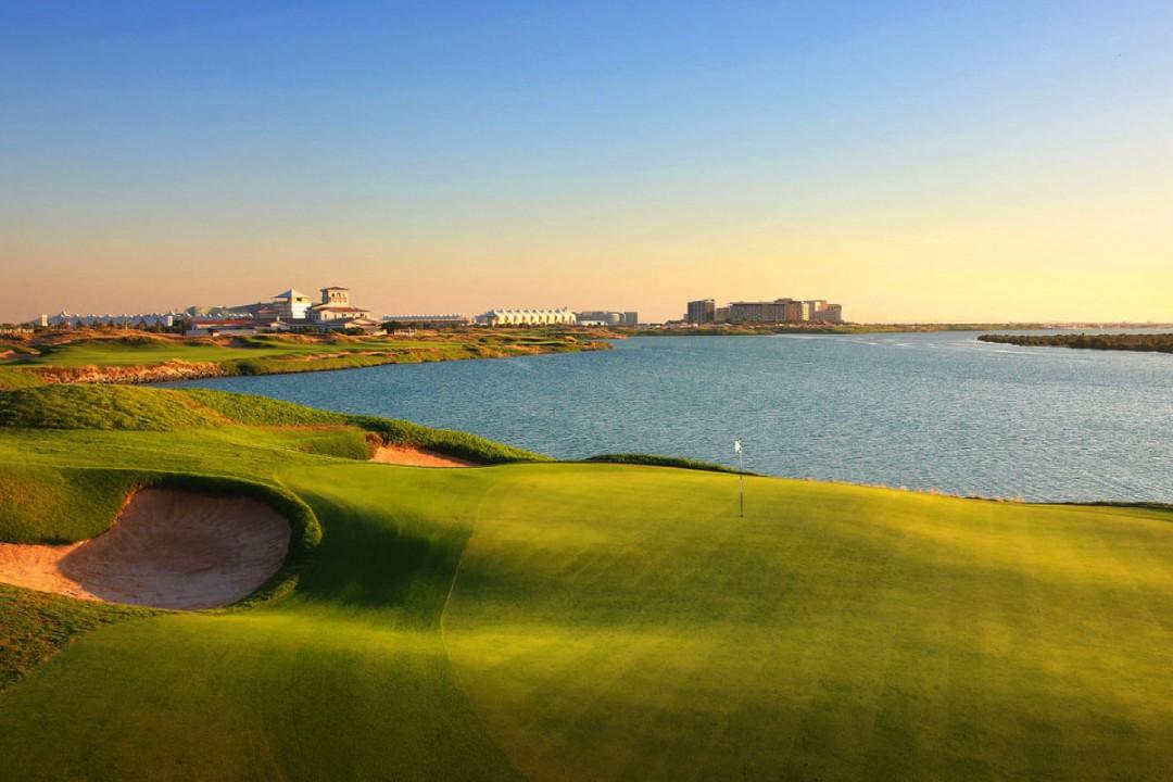 Yas Links Golf Club 1