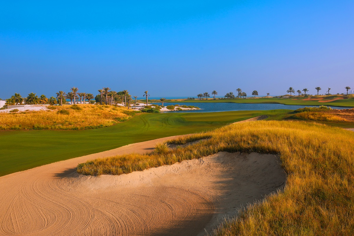 Saadiyat Beach Golf 9th
