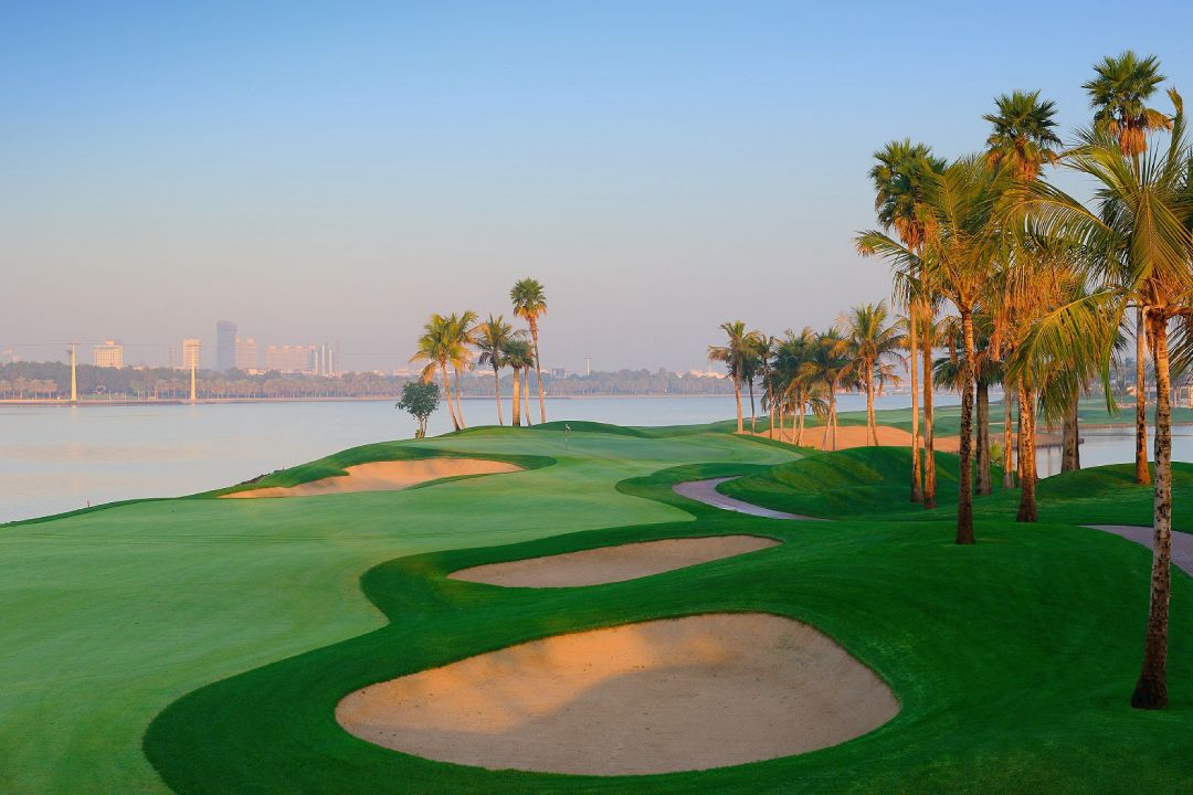 Dubai Creek 17th Hole