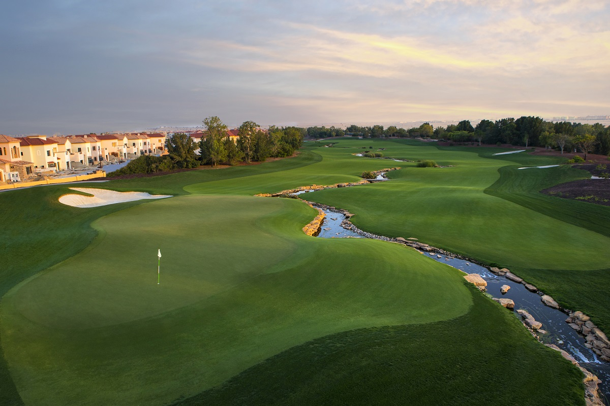 Jumeirah Golf Estates  Earth 18th