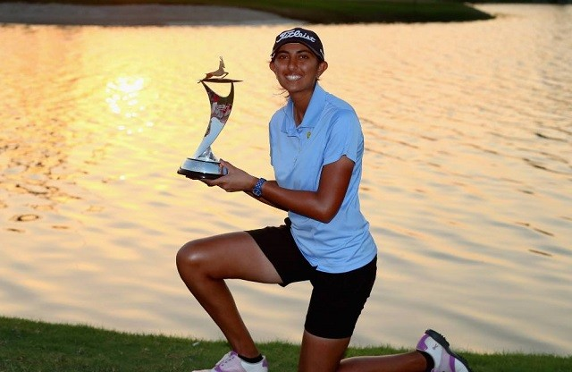 Aditi Ashok winner