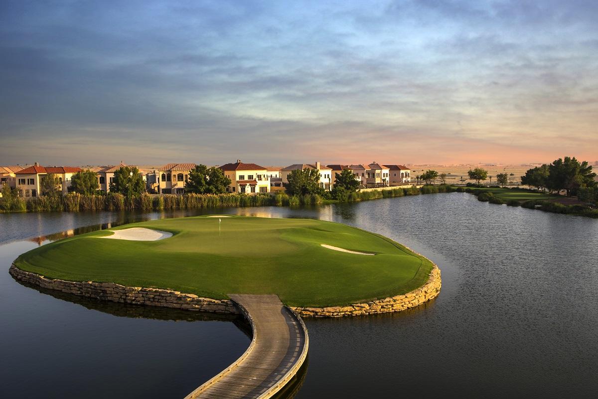 Jumeirah Golf Estates  Earth 17th