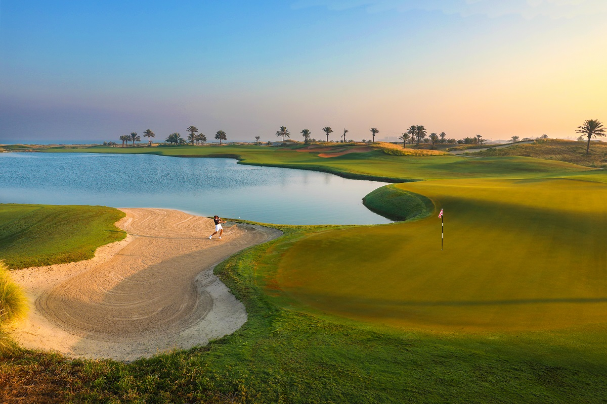 Saadiyat Beach Golf Saadiyat-18th