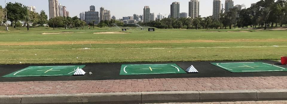 Emirates Golf Club driving range