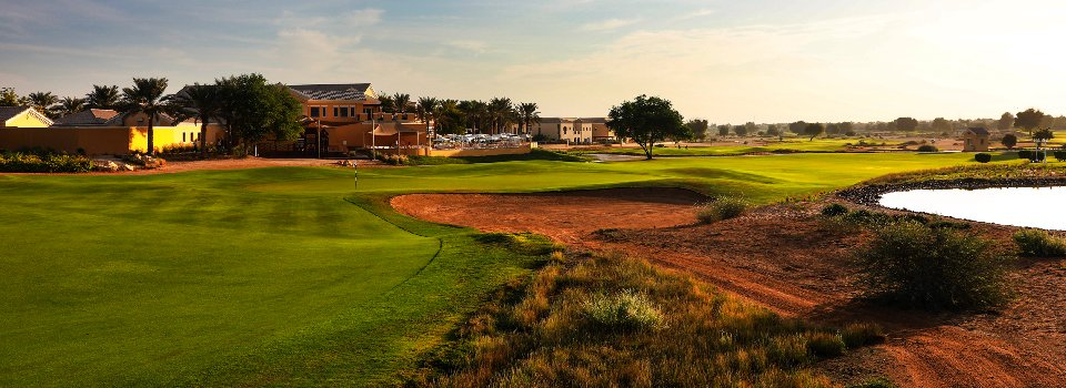 Arabian Ranches Golf Club header