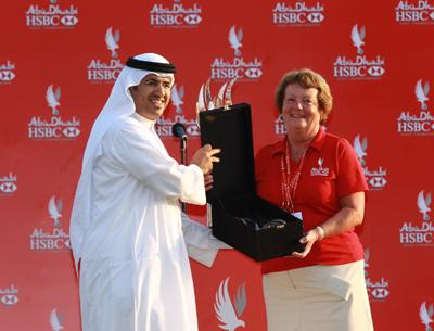 Jean Iggo Honoured for Outstanding Commitment to Abu Dhabi