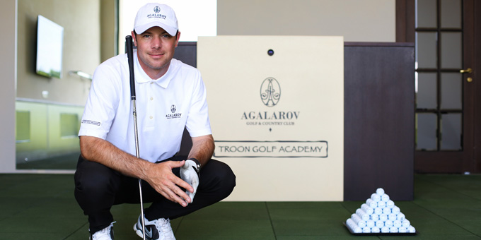 Peter Holland UAE Golf