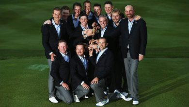 Victorious European Ryder Cup Team