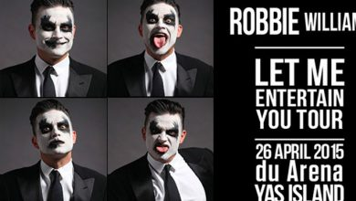 Robbie Williams UAE
