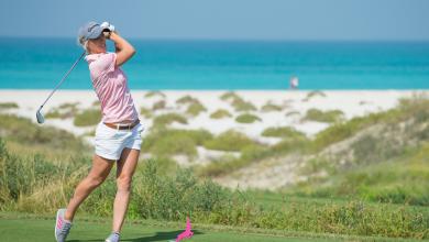 Mel Reid at Saadiyat Beach Golf Club