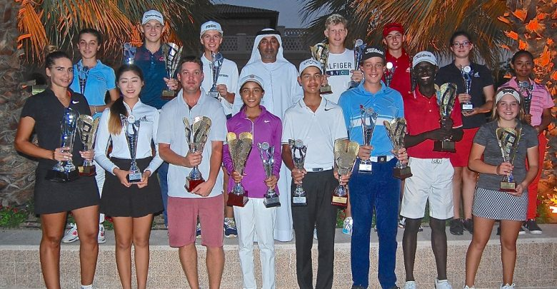 2017 – 2018 Emirates Golf Federation Order of Merit Winners