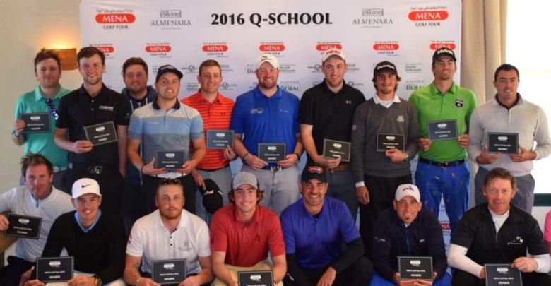Mena Golf Tour Q-school qualifiers