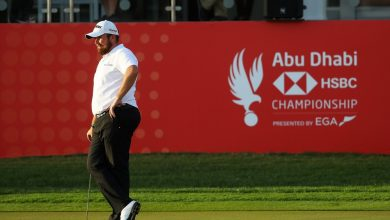 Shane Lowry Abu Dhabi HSBC Golf Championship - Day Two